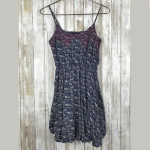 Lucca Couture Fit Flare Skater Sundress SZ M Boho